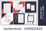 sale template collection for... | Shutterstock .eps vector #1590001825