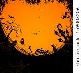 vector illustration of an... | Shutterstock .eps vector #159003206