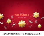 merry christmas and happy new...   Shutterstock .eps vector #1590096115