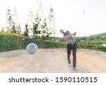 Golfer Male Shooting Amazing...