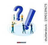 trendy flat illustration.... | Shutterstock .eps vector #1590139675
