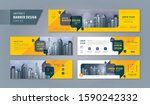 abstract banner design web... | Shutterstock .eps vector #1590242332