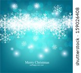 christmas background with... | Shutterstock .eps vector #159026408