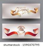 grand opening invitation cards... | Shutterstock .eps vector #1590370795