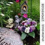 Grave Of A Wonderful Flower...