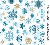 christmas seamless pattern from ... | Shutterstock .eps vector #159050762