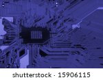 close up of computer circuit... | Shutterstock . vector #15906115