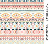 mexican american indian pattern ...   Shutterstock .eps vector #1590618142