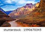 Red Canyon River Valley...