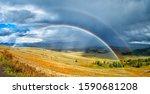 A Rainbow Over A Beautiful ...