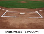 Batters Box With The Pitchers...