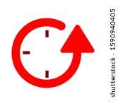 reload icon. flat illustration... | Shutterstock .eps vector #1590940405