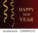 """gold serpentine with the words """"... 