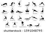 Popular Yoga Poses...