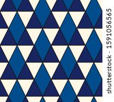 ethnic  tribal seamless surface ... | Shutterstock .eps vector #1591056565