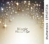 elegant christmas background... | Shutterstock .eps vector #159107216