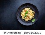 Italian Pasta Fettuccine In A...