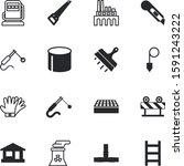 construction vector icon set... | Shutterstock .eps vector #1591243222