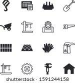construction vector icon set... | Shutterstock .eps vector #1591244158