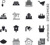 construction vector icon set... | Shutterstock .eps vector #1591244182