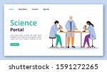 science portal landing page...