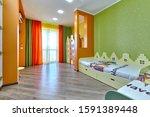 interior children's room...   Shutterstock . vector #1591389448