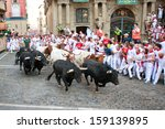 Pamplona  Spain July 9  People...