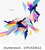 abstract background  of... | Shutterstock .eps vector #1591423612