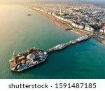 Brighton Pier  Uk   Aerial...