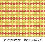 ottoman mosque window vector... | Shutterstock .eps vector #1591636375