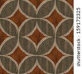 sardis mosaic   wood mosaic... | Shutterstock . vector #159172325
