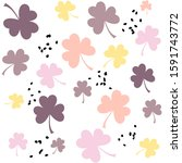 Pastel Colored Pattern With...