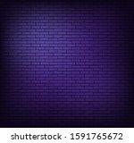 brick wall background.... | Shutterstock .eps vector #1591765672