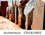 Puma Punku Stone Blocks  ...