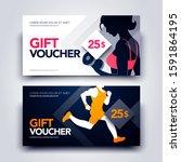 vector illustration set of gym...   Shutterstock .eps vector #1591864195