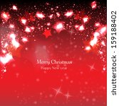 elegant christmas background... | Shutterstock .eps vector #159188402