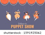 illustration of a performance... | Shutterstock .eps vector #1591925062