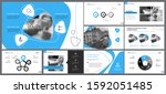 grey  white and blue... | Shutterstock .eps vector #1592051485