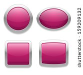 ping buttons in four different... | Shutterstock .eps vector #159209132