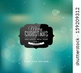 Vector Christmas Greeting Card  ...