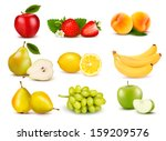 apple,apricot,banana,berry,cherry,color,colorful,concept,design,dessert,eat,food,fresh,fruit,green