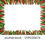 close up rectangular frame... | Shutterstock . vector #159220676