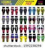 leggings pants for gym pack... | Shutterstock .eps vector #1592238298