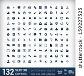 132 universal outline icons for ...