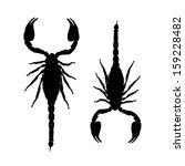 Scorpions  Black Silhouette Fo...