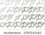 hand drawn  abstract love for... | Shutterstock .eps vector #1592314162