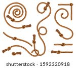 curtain tassels and braided... | Shutterstock .eps vector #1592320918