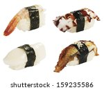 sushi set | Shutterstock . vector #159235586