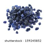 many small uncut and unpolished ... | Shutterstock . vector #159245852