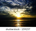 daybreak at a resort in ... | Shutterstock . vector #159257